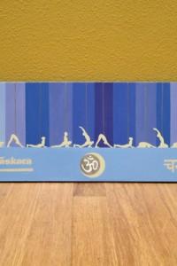 sun salutation b  poster  yoga inspired art