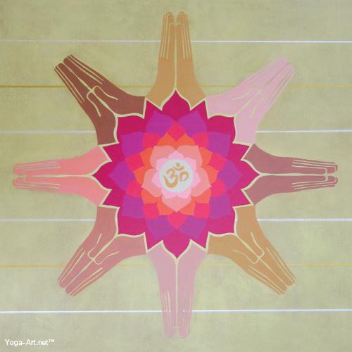 Lotus Añjali Mudra
