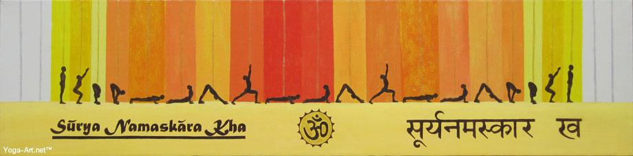Sun Salutation B / Surya Namaskara Kha